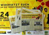 Zeitung-Fruehstuecksmeile